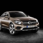Mercedes Benz GLC Coupe Takes A Bow