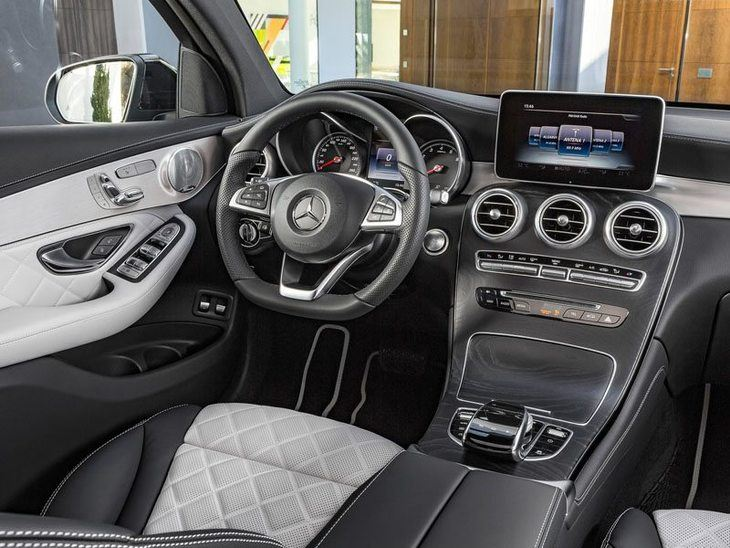 Mercedes GLC Coupe Interior Front