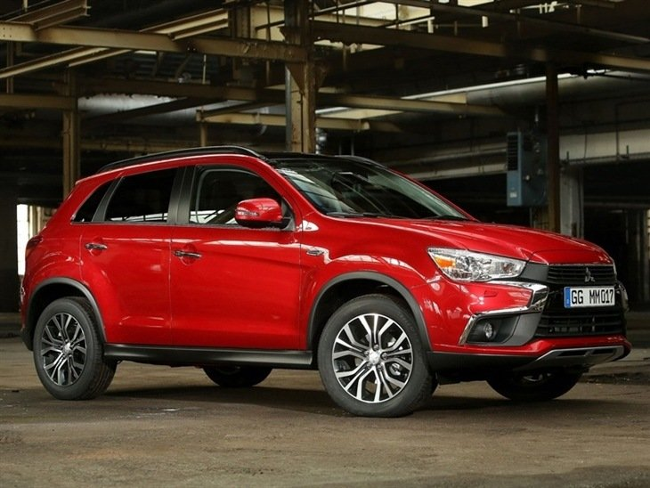 Mitsubishi ASX Exterior Front Red 3