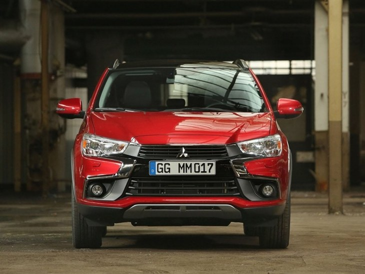 Mitsubishi ASX Exterior Front Red