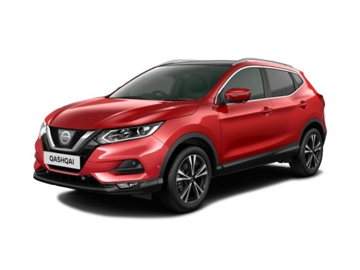 nissan qashqai 1 2 dig t n connecta glass roof pack car leasing nationwide vehicle contracts. Black Bedroom Furniture Sets. Home Design Ideas