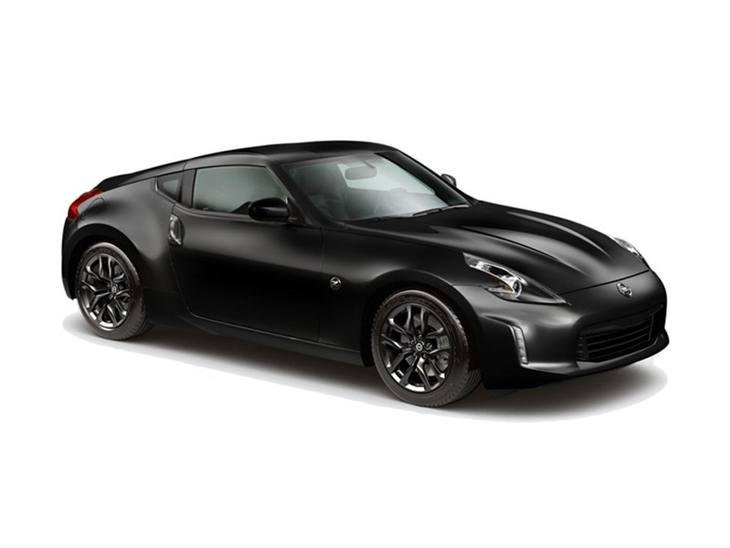 Nissan 370Z in Black front right view