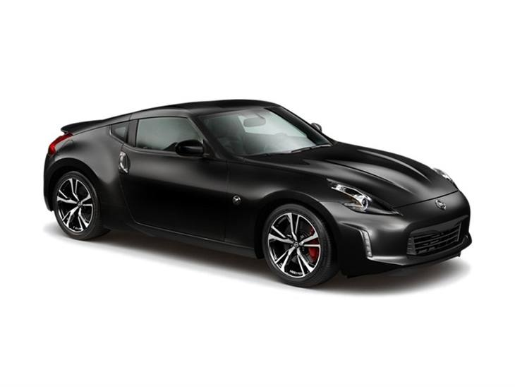 Nissan 370Z GT in Black front right view