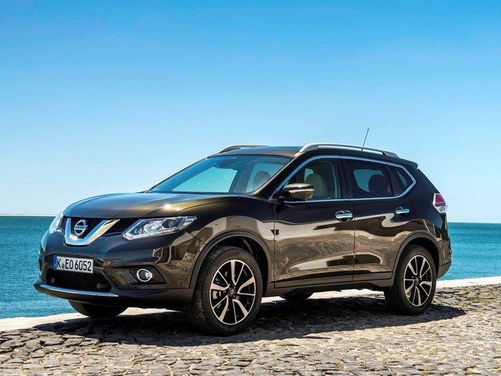 Nissan X-Trail Grey Exterior Side2