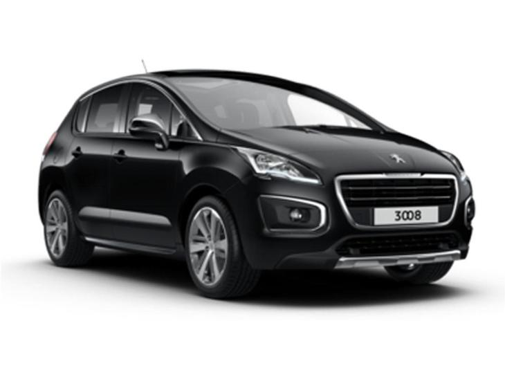 peugeot 3008 crossover 1 6 bluehdi 120 allure auto contract hire and car lease from. Black Bedroom Furniture Sets. Home Design Ideas