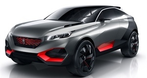 An SUV for the future: The Peugeot Quartz Concept