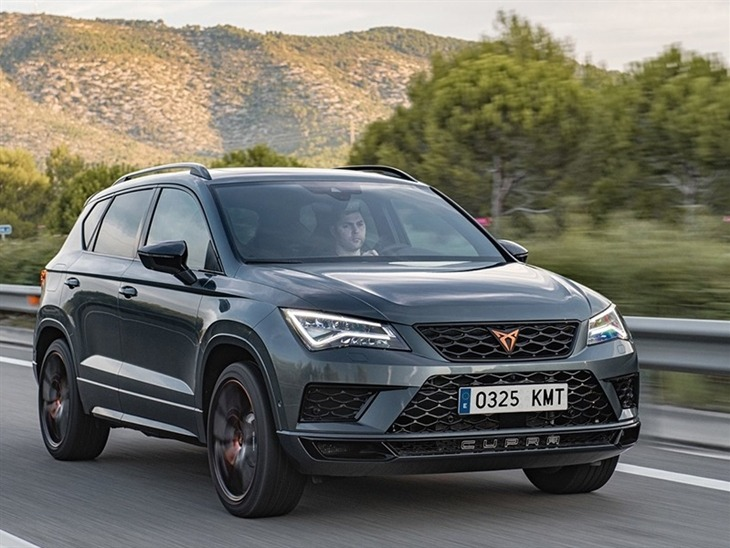 seat cupra ateca 2 0 tsi 5dr dsg 4drive comfort sound. Black Bedroom Furniture Sets. Home Design Ideas