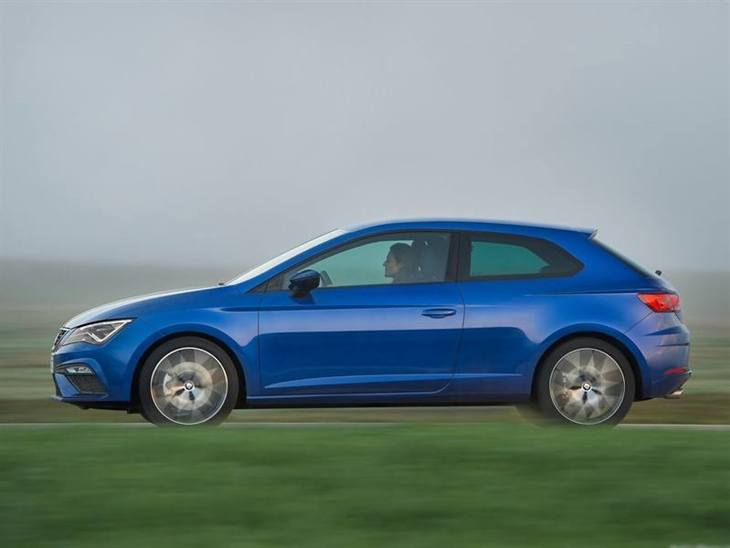 Seat Leon Sport Coupe Exterior Blue Side