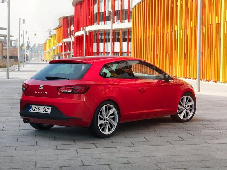 Seat Leon Sport Coupe Red Back 2