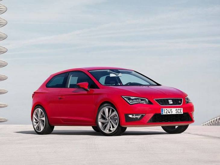 Seat Leon Sport Coupe Red Front