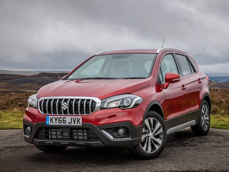 Suzuki SX4 S Cross Exterior Red Front 3