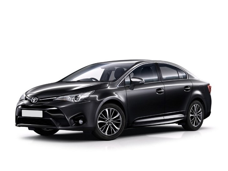 Toyota Avensis New Model Black Front