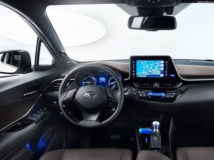 Toyota C HR Interior