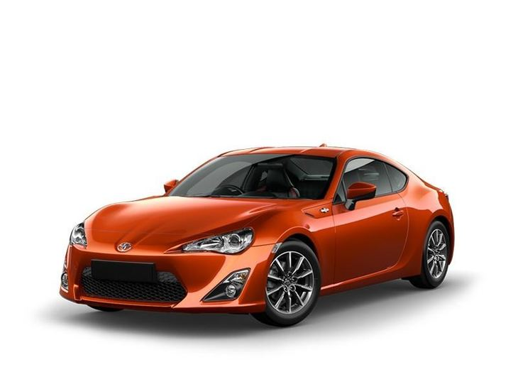 Toyota GT86 Orange Front