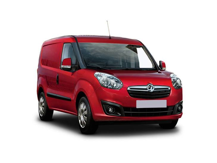 Vauxhall Combo Red Front