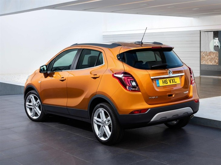 Vauxhall Mokka X Exterior Back Amber Orange