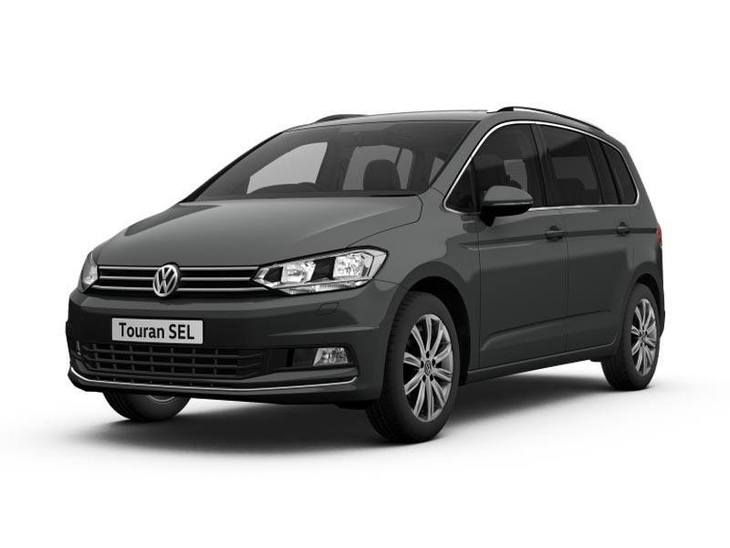 Volkswagen Touran New Model Black Exterior Front