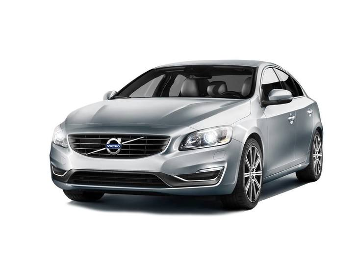 Volvo S60 Silver Front
