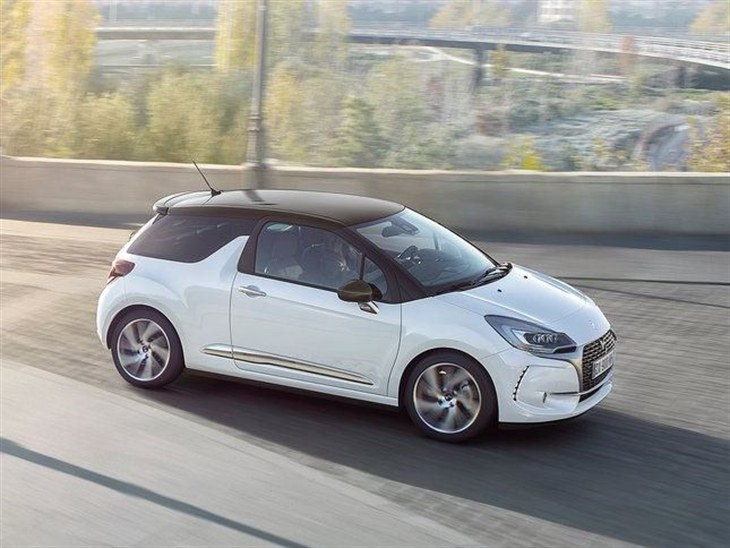 Citroen DS3 New Model White Exterior Side