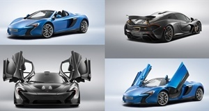 The Beautiful Cars at Pebble Beach 2014; McLaren Special Operations Style