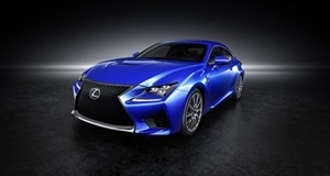 Lexus RC F V8 Coupe Prepares for UK Launch