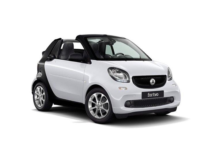 Smart Car Lease >> Smart Fortwo Cabrio 60kw Eq Prime Premium Plus Auto 17 6kwh