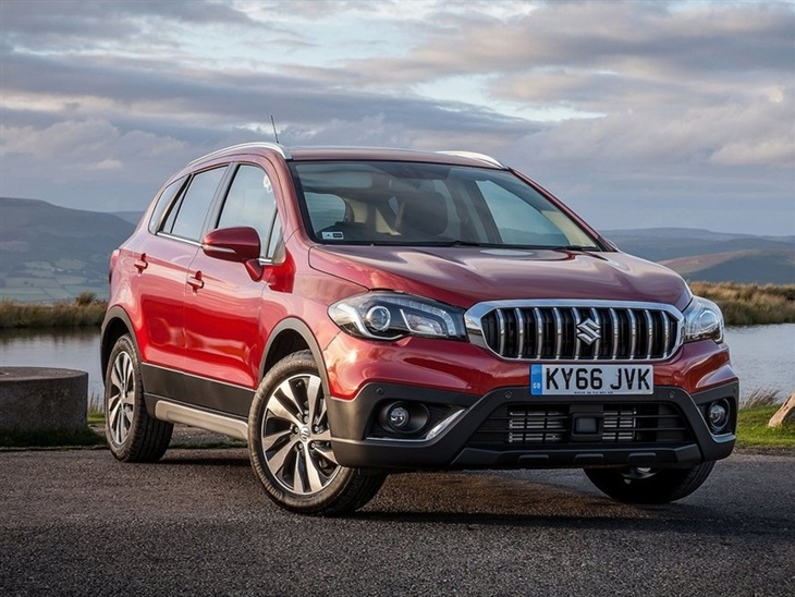 Suzuki SX4 S Cross Exterior Red Front 2