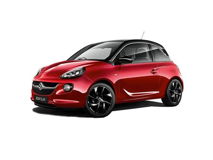 Vauxhall Adam Red Exterior Front