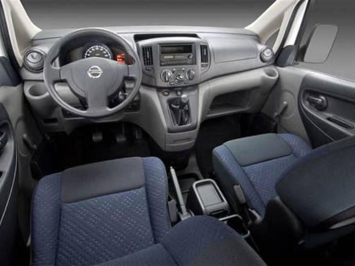 Nissan Nv200 1 5 Dci 90ps Tekna Van Leasing Nationwide