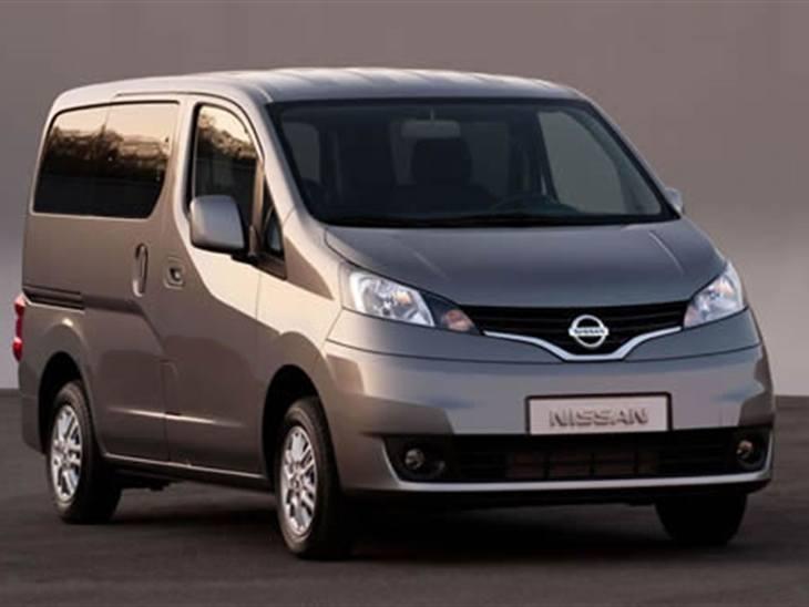 Nissan Nv200 1 5 Dci 110 Tekna Van Leasing Nationwide