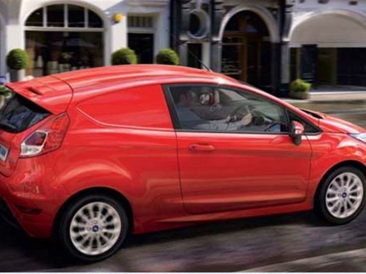 ford fiesta van 1 5 tdci van van leasing nationwide vehicle contracts. Black Bedroom Furniture Sets. Home Design Ideas