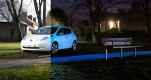 The Nissan LEAF you Can See Coming Day or Night