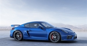 Envy Alert as Porsche Reveal Cayman GT4