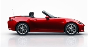 All-New Mazda MX-5 Hits the Paris Catwalk