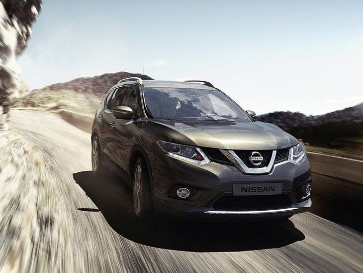 Nissan X-Trail Grey Exterior Front
