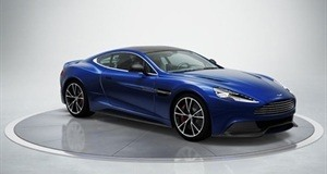 How crackers would a gift of an Aston Martin Coupe be?