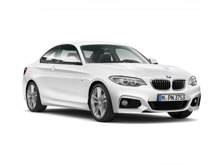 Bmw 2 series coupe 218i m sport nav step auto car leasing nationwide vehicle contracts - Bmw 2 series coupe white ...