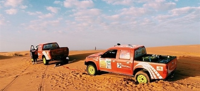 UK Team set for Rallye des Gazelles 2015 debut